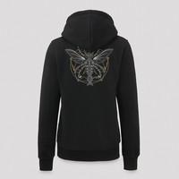 Qlimax hoodie black/gold