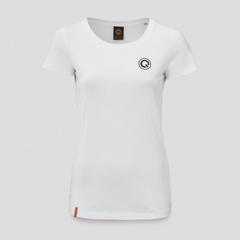 Q-dance t-shirt white