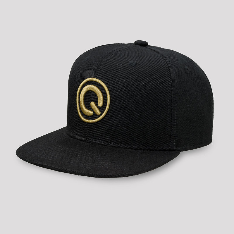 Q20YRS snapback black/gold