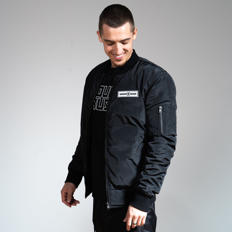 Sound Rush bomber black/white