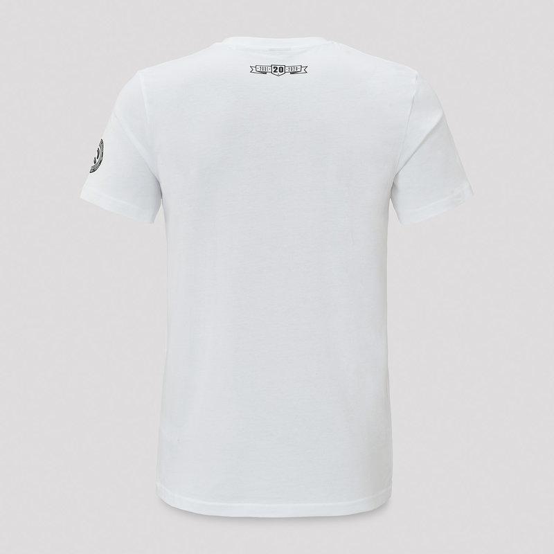 Q20YRS t-shirt white/black