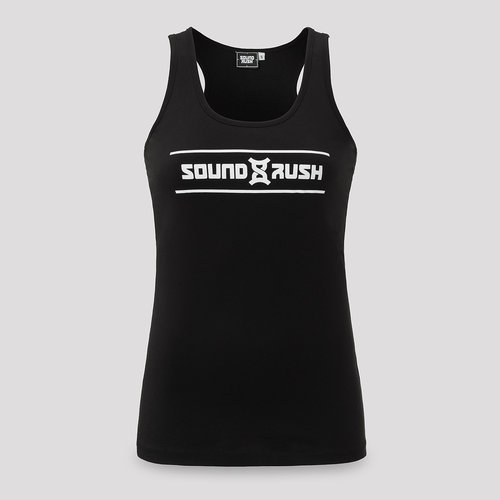 Sound Rush tanktop black/white