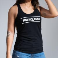 Sound Rush tanktop black/white