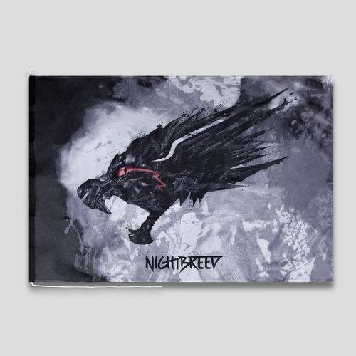 Nightbreed flag black