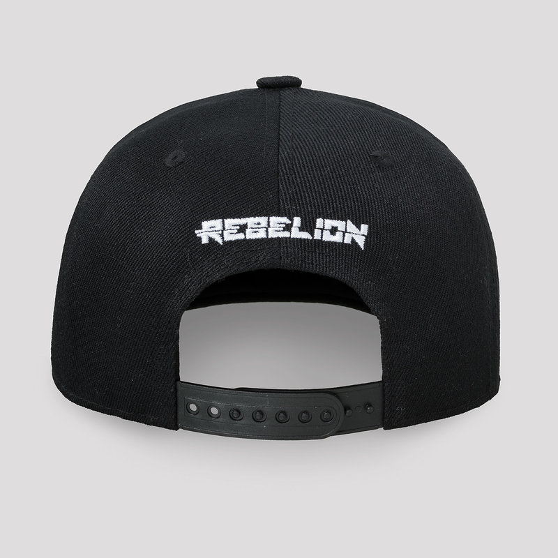 Rebelion snapback black/red