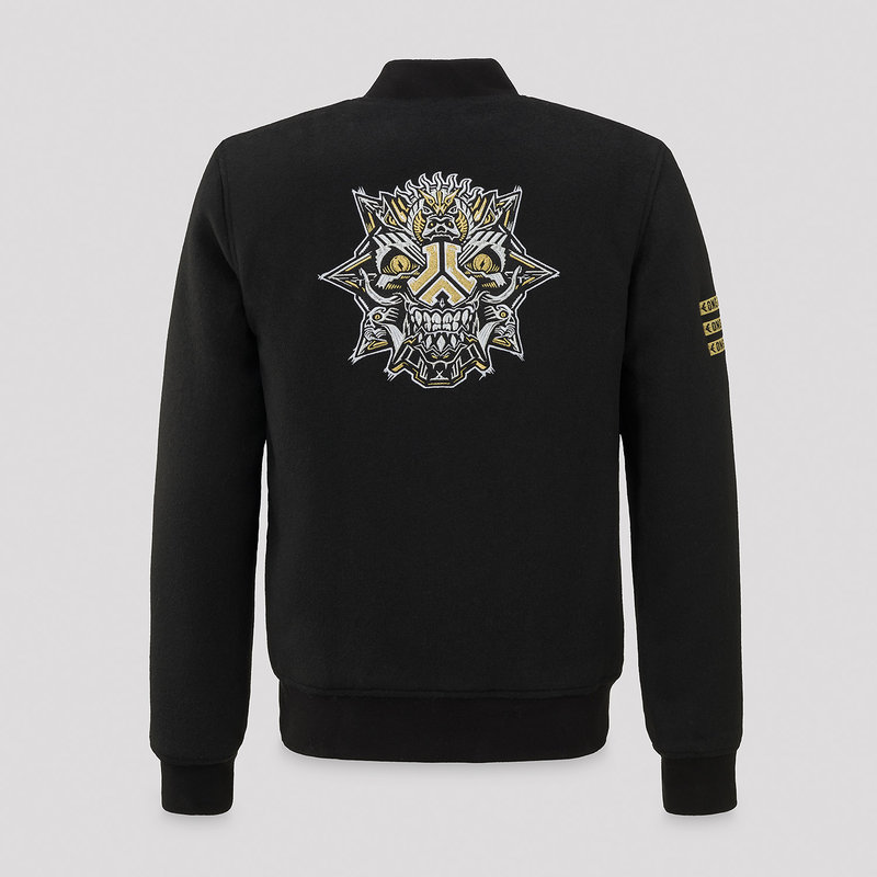 Defqon.1 bomber theme black/gold