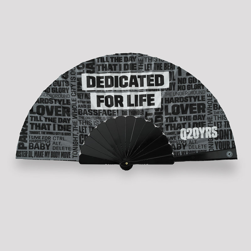 Q20YRS handfan grey/black