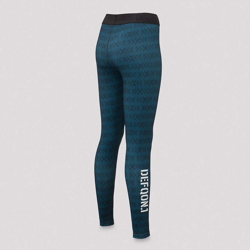 Defqon.1 legging navy/white