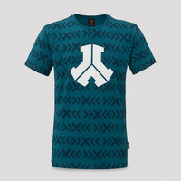 Defqon.1 t-shirt navy/pattern