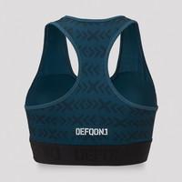 Defqon.1 sport bra navy/white