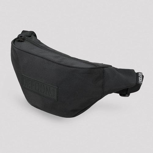 Defqon.1 fanny pack black/black