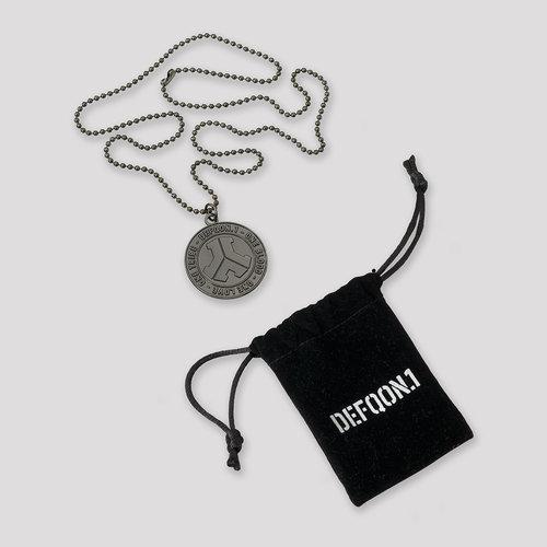 Defqon.1 necklace gun black