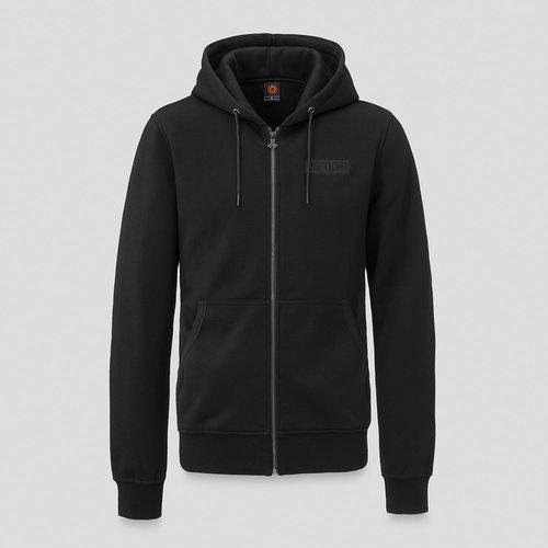 Defqon.1 hooded zip black/black