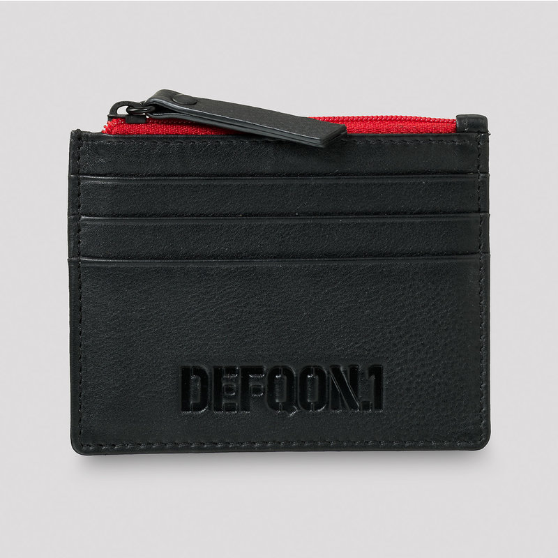 Defqon.1 leather card holder