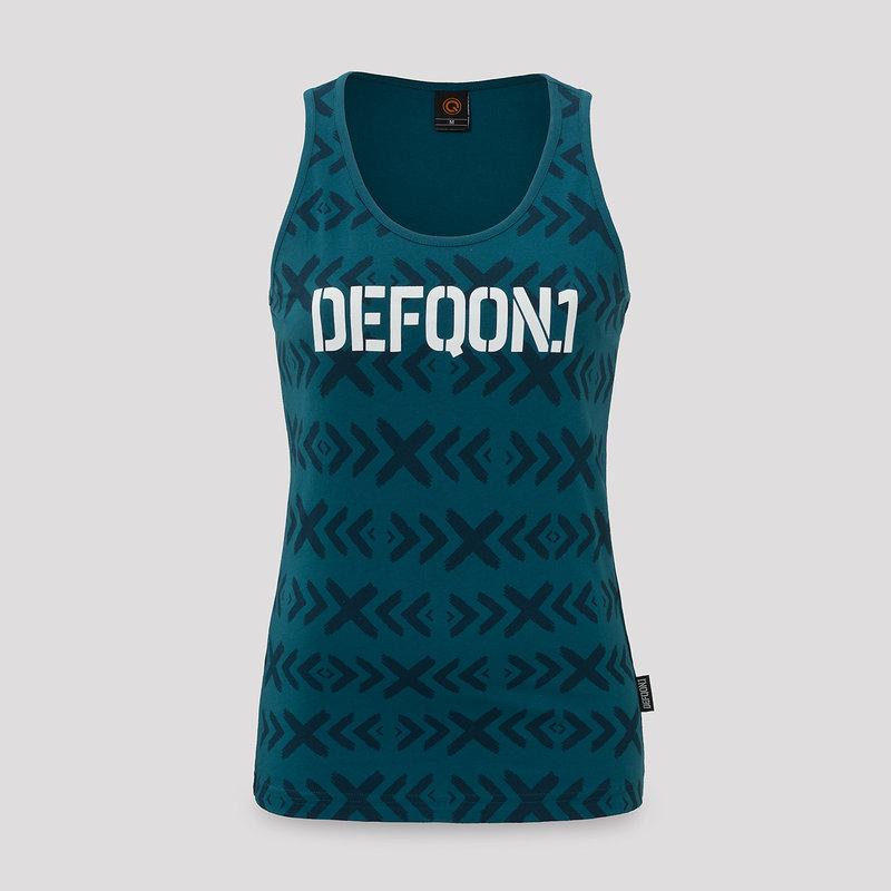 Defqon.1 tanktop navy/pattern