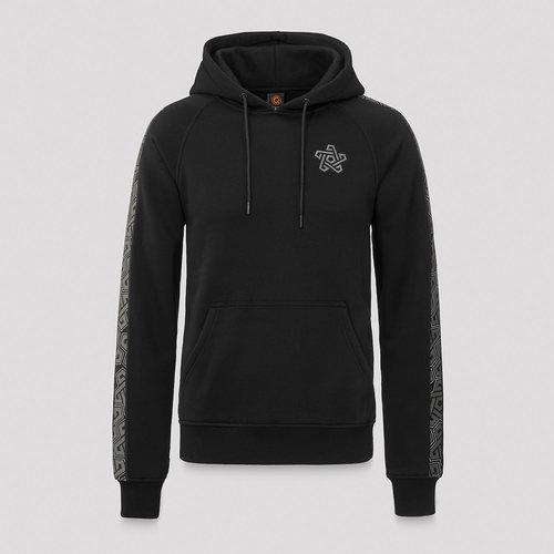 Qapital hoodie black/tape