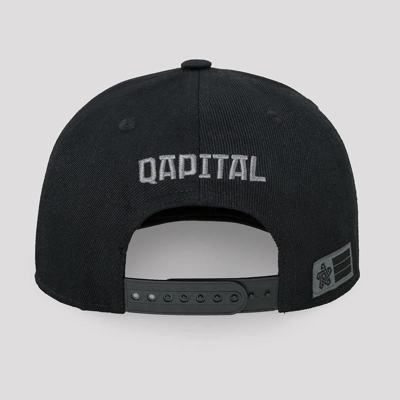 Qapital snapback black/grey