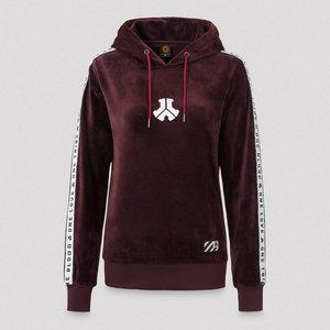 DEFQON.1 Defqon.1 boyfriend hoodie burgundy/velvet