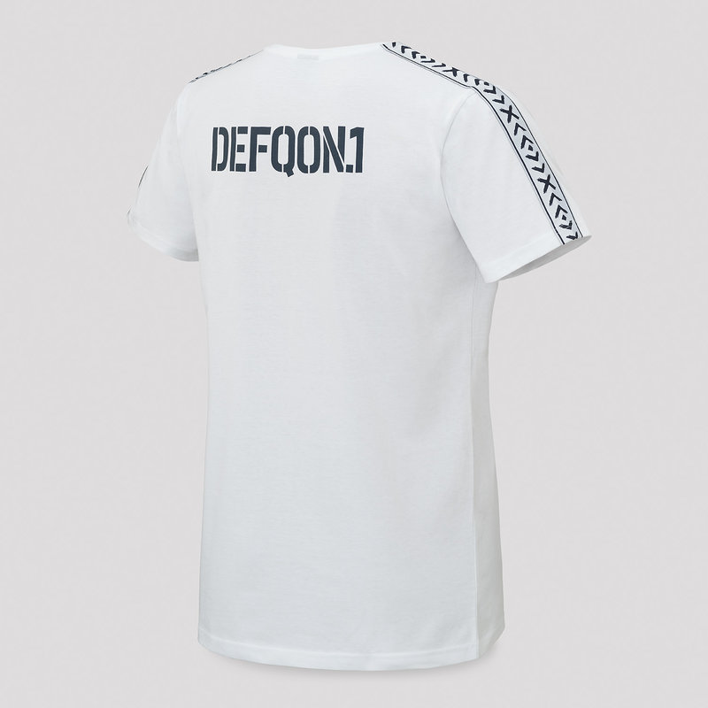 Defqon.1 t-shirt white/navy