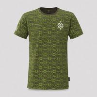 Defqon.1 t-shirt army/pattern