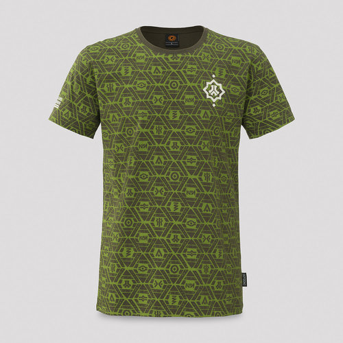 Defqon.1 t-shirt army/pattern