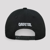 Qapital baseball cap black