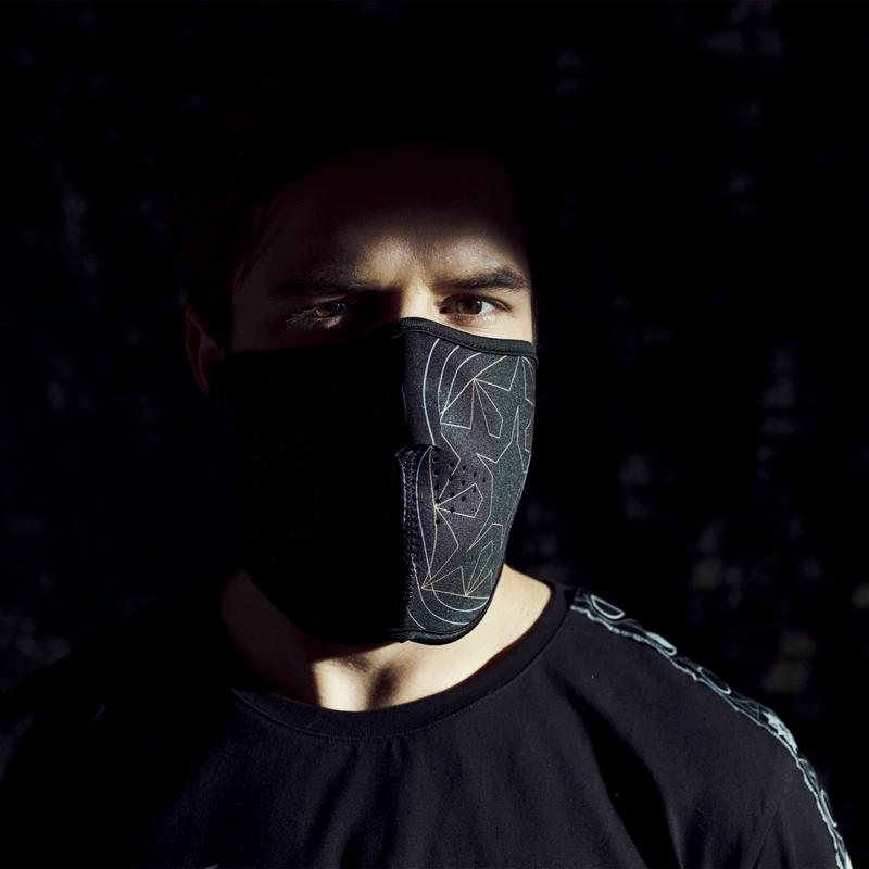 Qlimax facemask black