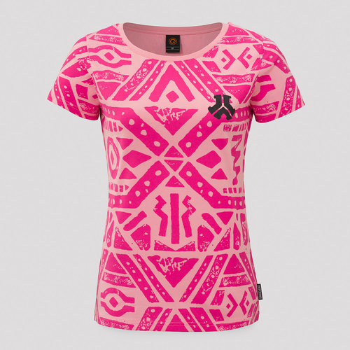Defqon.1 t-shirt pink/black