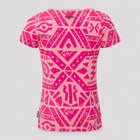 Defqon.1 t-shirt pink/black