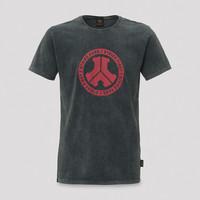 Defqon.1 T-shirt acid wash/red