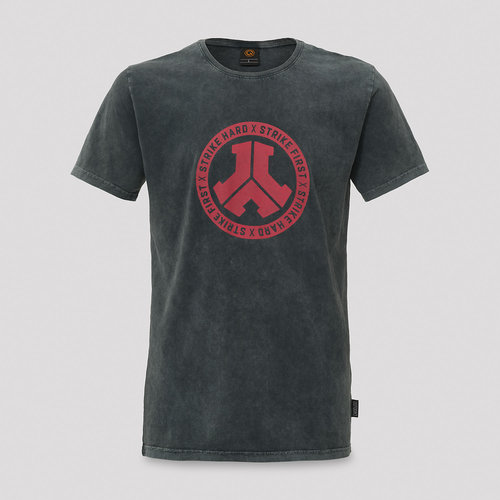 Defqon.1 T-shirt acid wash/red