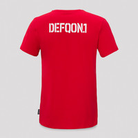 Defqon.1 t-shirt red/white