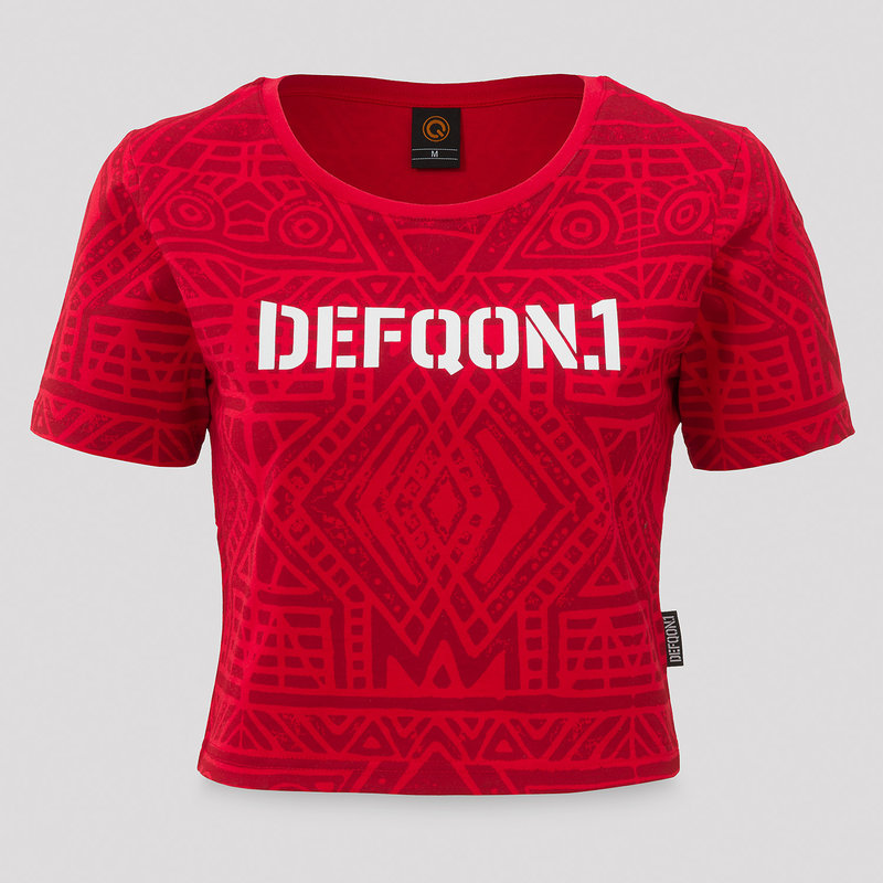 Defqon.1 short tee red