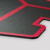 DQ.1 Cut out red/black 50x50