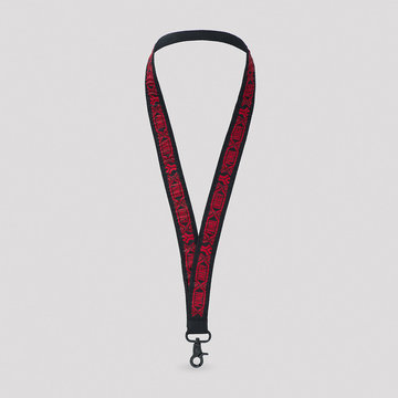 DEFQON.1 Defqon.1 Primal Energy lanyard red/black