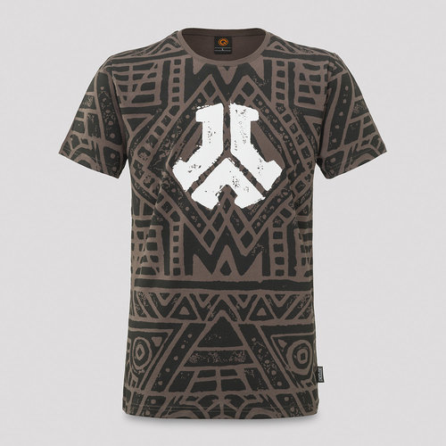 Defqon.1 Primal Energy T-shirt grey/pattern
