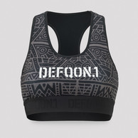Defqon.1 Primal Energy sport bra grey/pattern