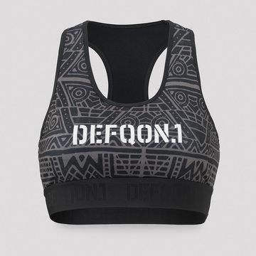 DEFQON.1 Defqon.1 Primal Energy sport bra grey/pattern