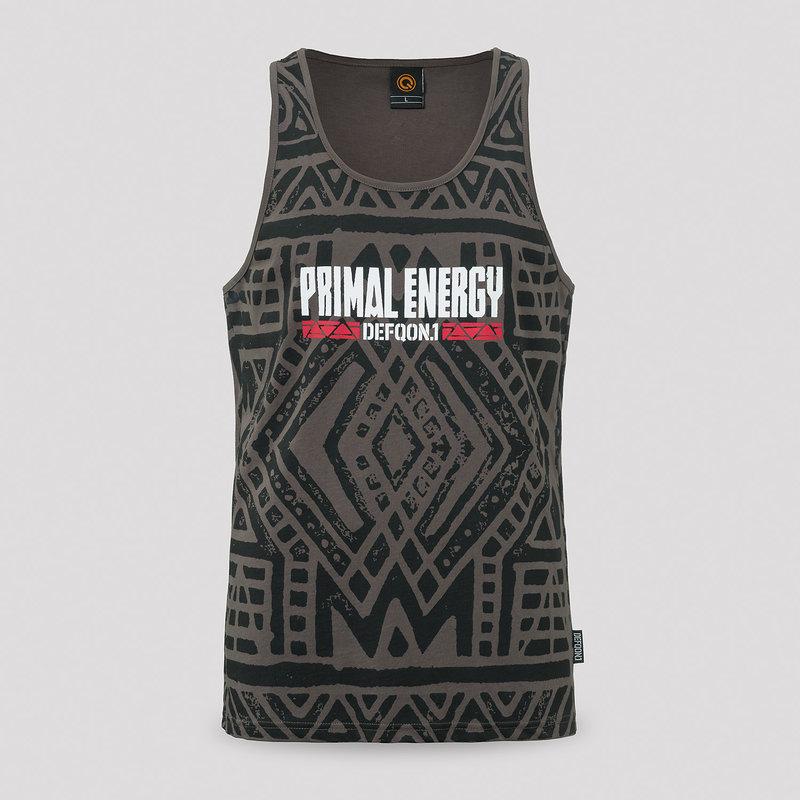 Defqon.1 Primal Energy tanktop grey/pattern