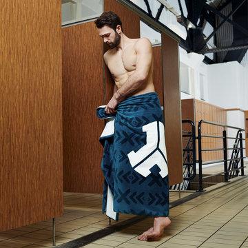 DEFQON.1 Defqon.1 beach towel blue/black