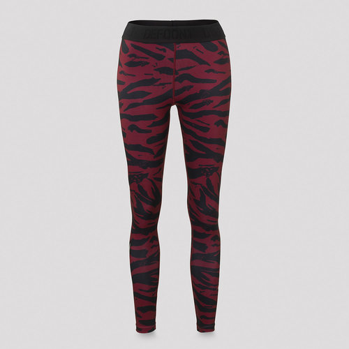 Defqon.1 zebra legging red/black