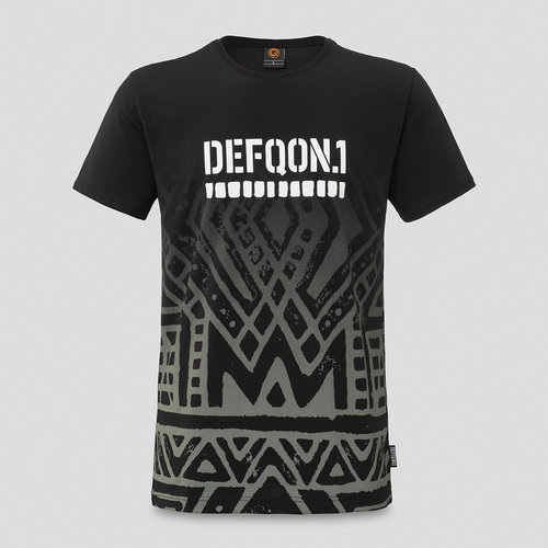 Defqon.1 t-shirt black/gradient