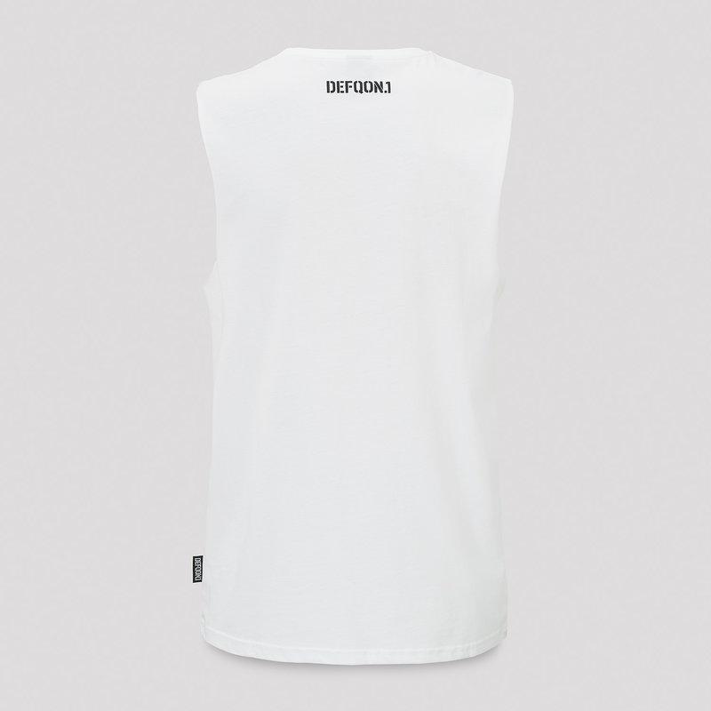 Defqon.1 tanktop white/black