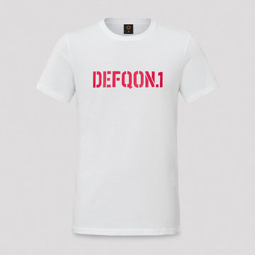 DEFQON.1 Defqon.1 t-shirt white/red men