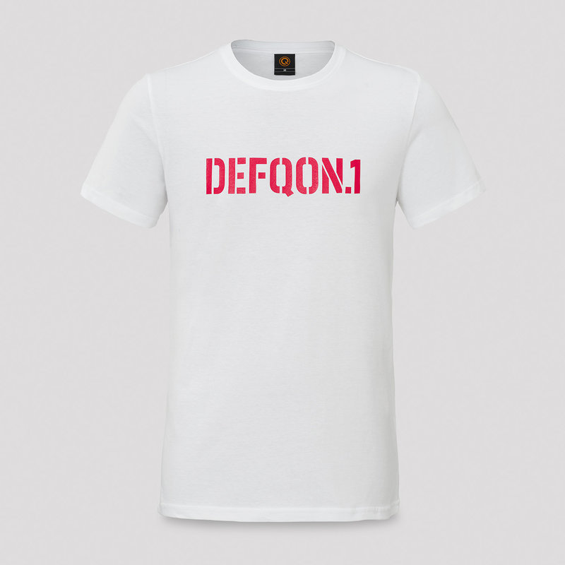 Defqon.1 t-shirt white/red