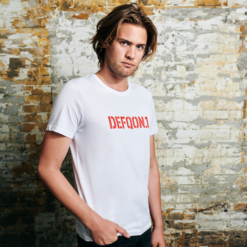 Defqon.1 t-shirt white/red men