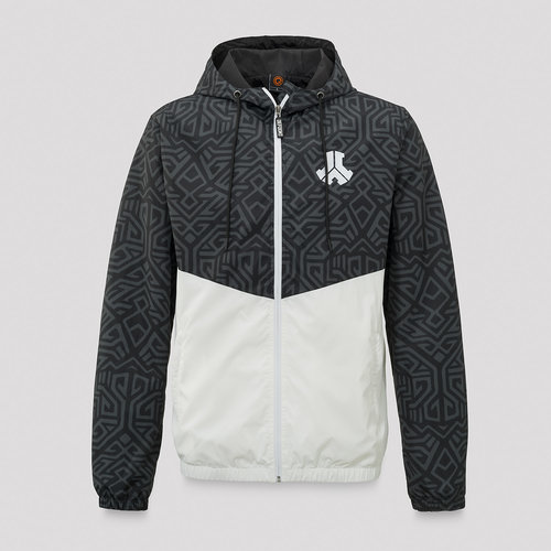 Defqon.1 windjacket black/white/pattern