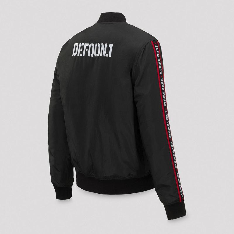 Defqon.1 bomber black/tape