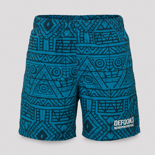 Defqon.1 short (swim) blue/pattern