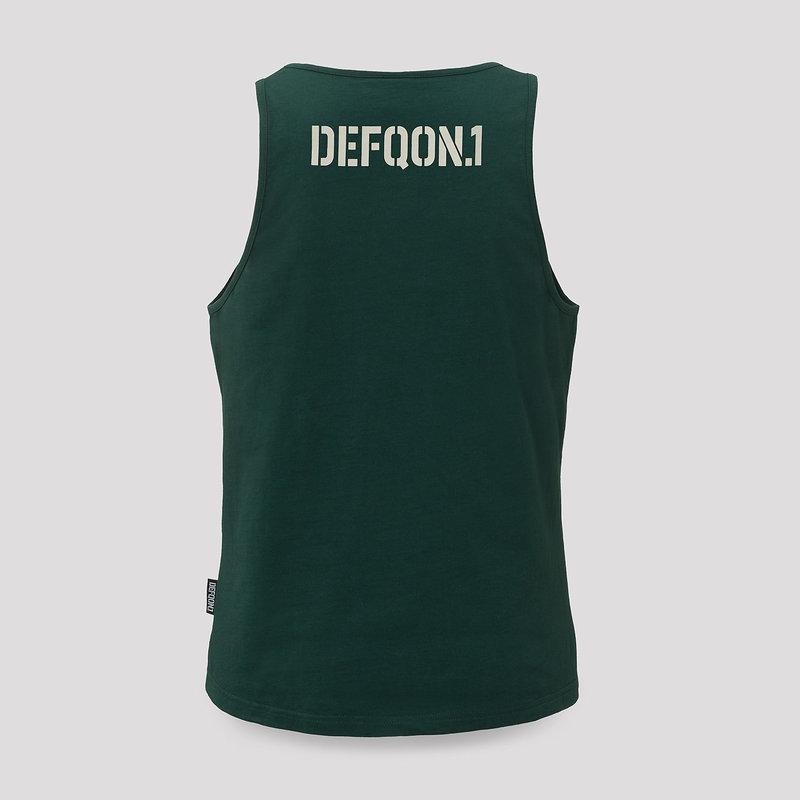Defqon.1 tanktop petrol/loose fit